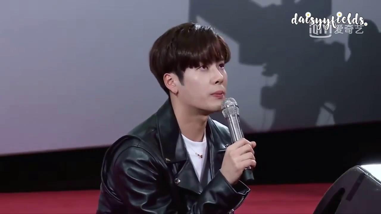 [ENG] Idol Producer: Jackson exhort trainees to cherish their health