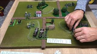 DBN Napoleonic Wargaming 12 point game