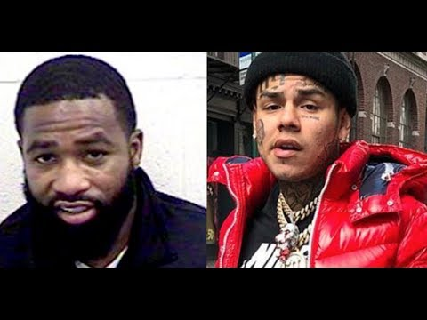 Adrien AB Broner TROLLS 6IX9INE for Commenting Under His Picture, AB Always Liking 6ix9ine Posts Tho
