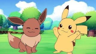 Pokemon Let's Go Pikachu and Eevee! Animation