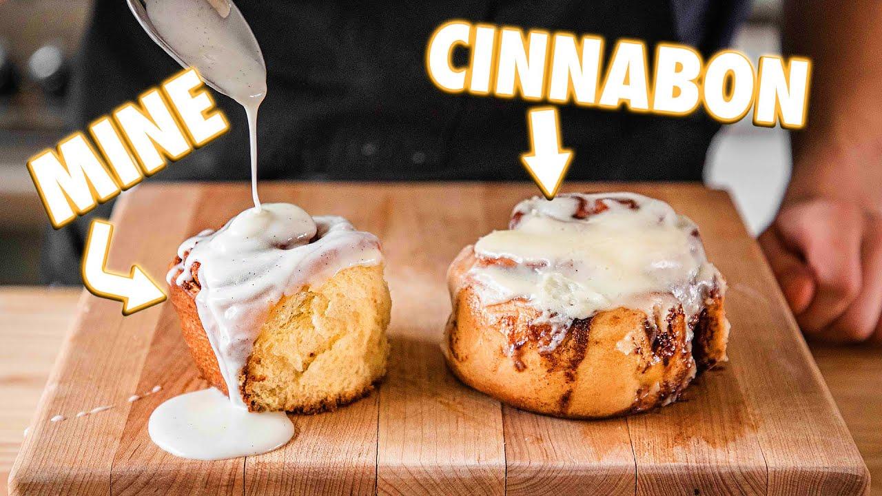 Cinnabon Cinnamon Rolls (But Better)