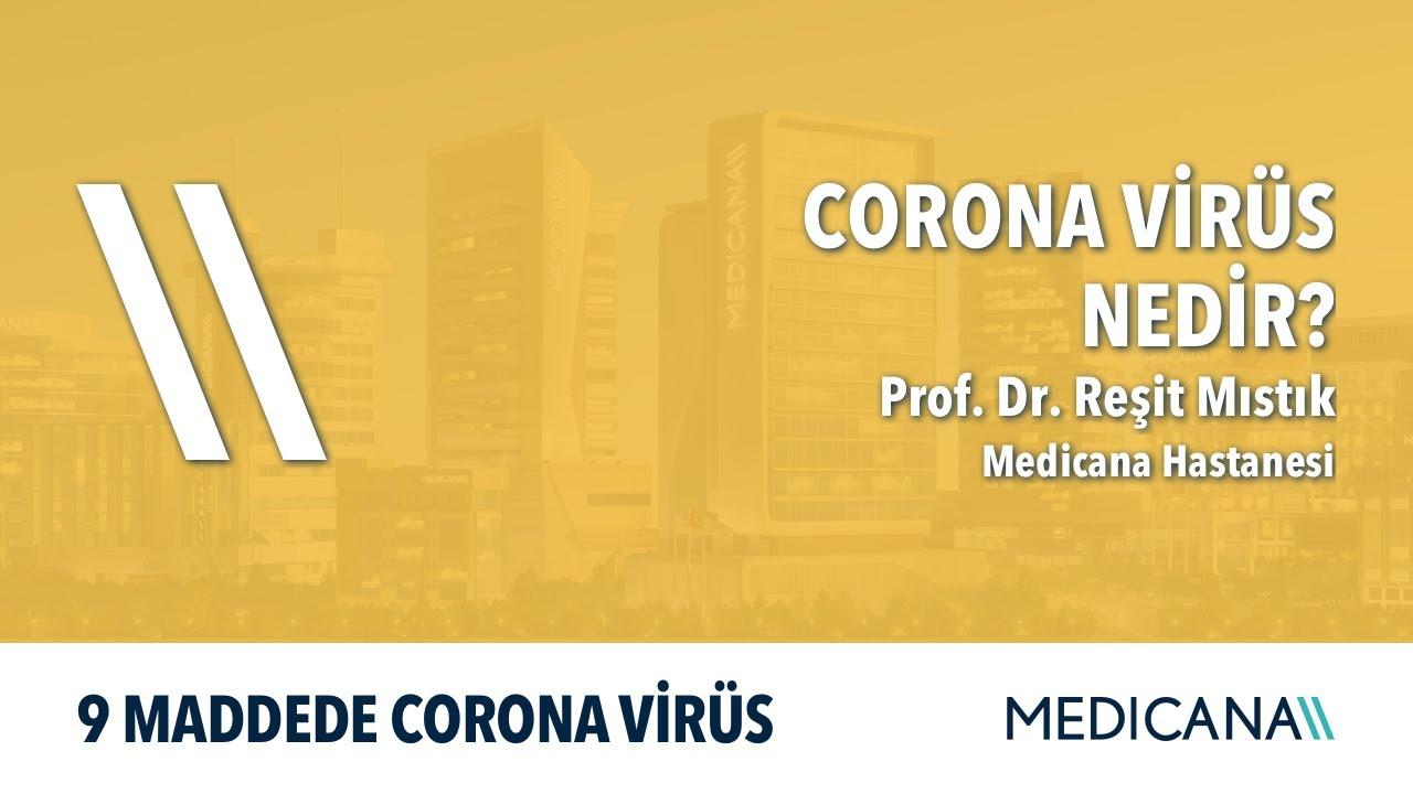 Corona Virüs Nedir? - 9 Maddede Corona Virüs - Prof. Dr. Reşit Mıstık