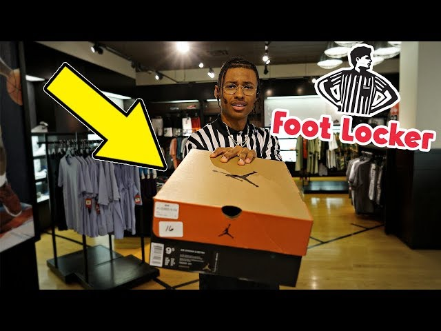 How to get ANY Footlocker Sneaker For Free!
