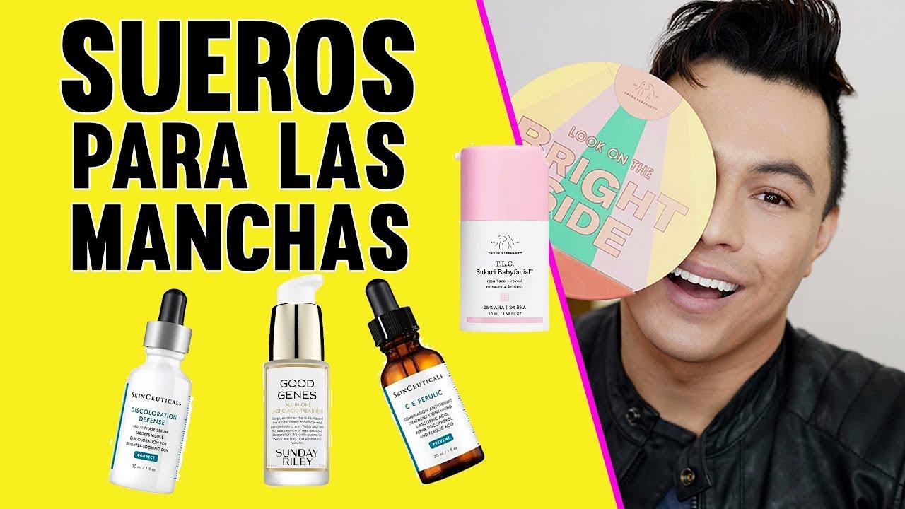 Los Mejores Sérums Para Las Manchas De La Cara 2019 Youtube