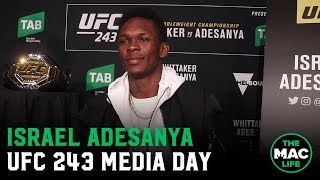 Israel Adesanya responds to Jon Jones: