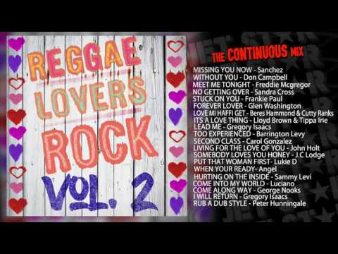 80s 90s Old School Lover's Rock Reggae Mix 2-Beres Hammond,