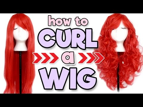 HOW TO CURL A WIG | Alexa's Wig Series #8