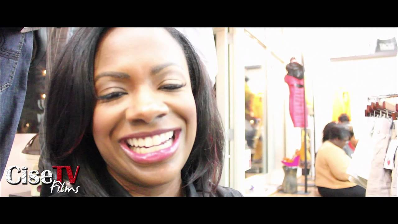 KANDI BURRUSS - V-DAY PARTY @ TAGS BOUTIQUE