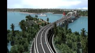Animasi Jembatan Holtekam JayaPura Papua