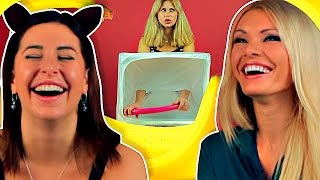 Порнозвезды угадывают секс-игрушки [Popcorn Studio]