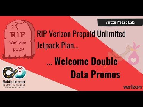 RIP Verizon Prepaid Unlimited Jetpack Plan (pUDP) – Hello Double Data Promotions