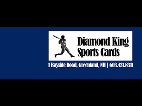 I Toured Diamond King Sports Cards Shop In New Hampshire