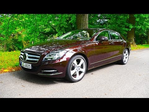 Mercedes CLS-Class 350 I 4MATIC Coupé review test Fahrbericht - Autogefühl Autoblog