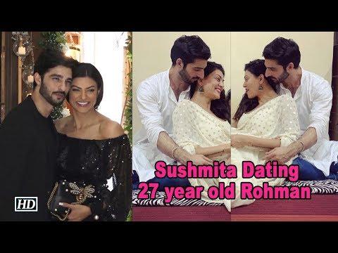 Sushmita Sen CONFIRMS Dating 27 Year Old Rohman