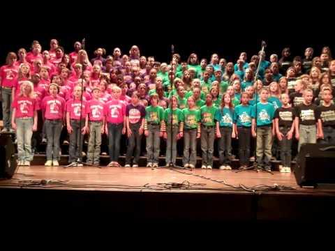 Duct Tape  - Willis, Tx 5th Grade Honor Choir - 2011