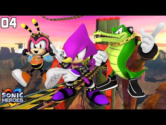Sonic Heroes (GC) [4K] - Team Chaotix (4/7)