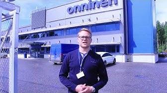 Tekninen myyjä Tuomas Turtiainen, Onninen Oy