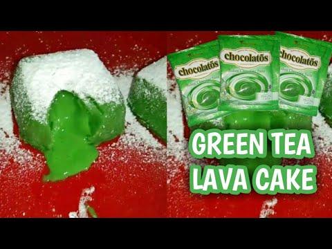 Matcha lava cake recipe