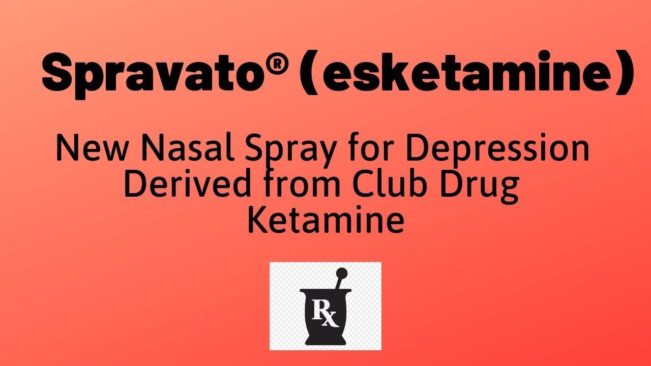 Image result for Spravato and ketamine