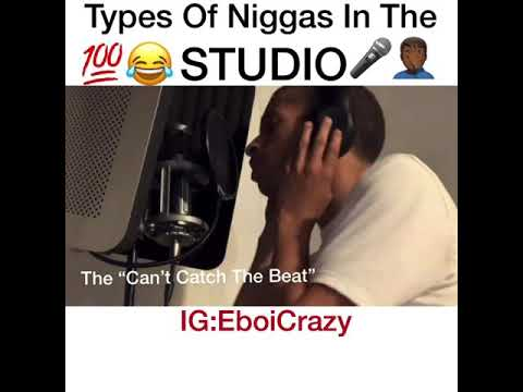 Types Of Men In The Studio