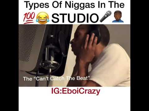 Types Of Men In The Studio