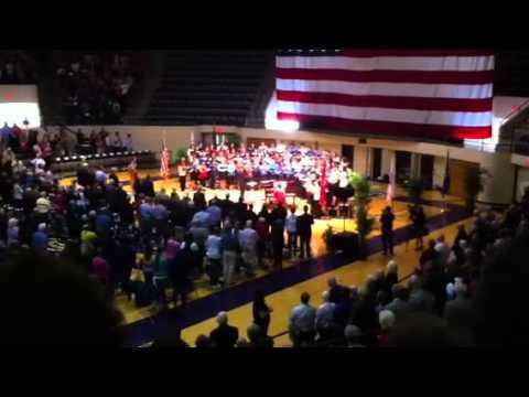 National Anthem by Abilene Christian University Choir durin