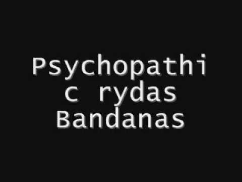 psychopathic rydas bandanas
