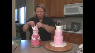 Easter Bunny Cake How To Decorate Easy Easter Bunny-rabbit Cake: Decorating Video Tutorial Preview