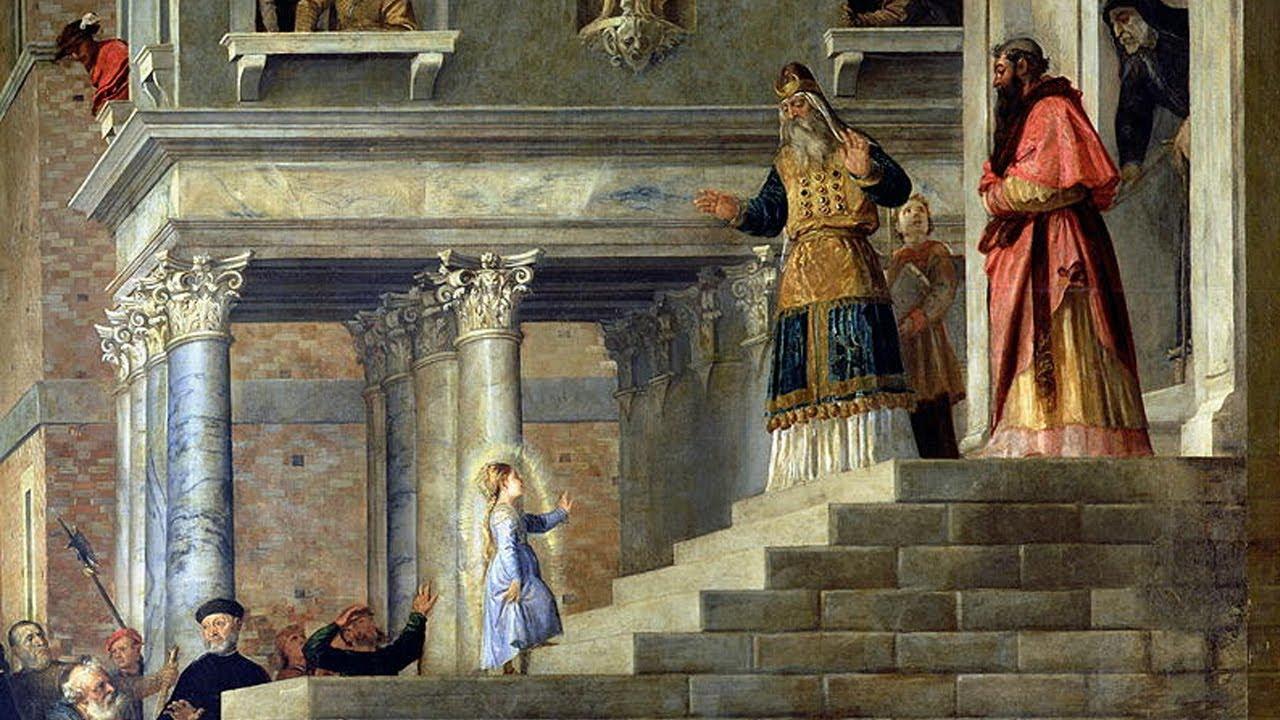 Resultado de imagem para Apresentação de Nossa Senhora no Templo