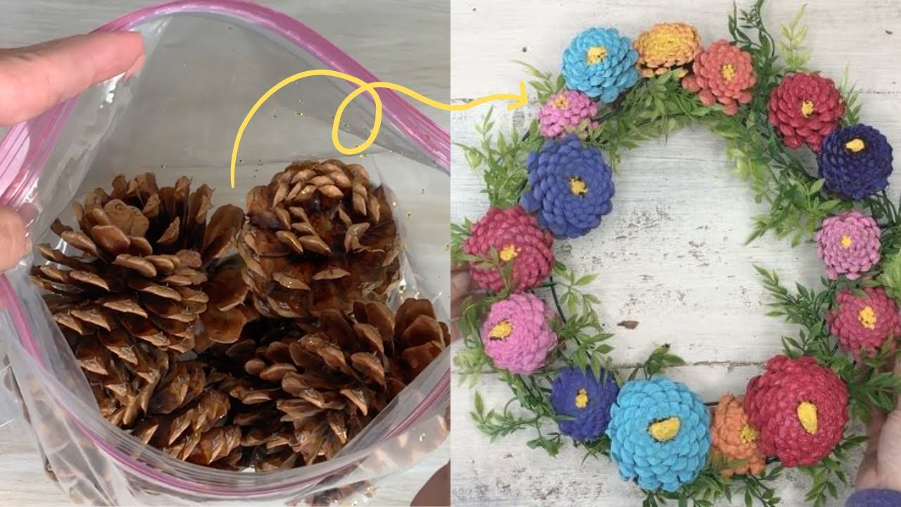 9 Amazing Pinecone Decorating Ideas To Try This Fall Hometalk Youtube