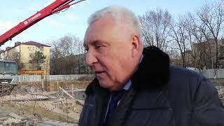 Глава Анапы проверил, как идет строительство нового корпуса школы №6
