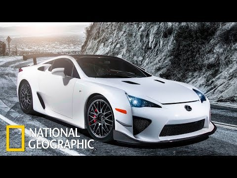Мегазаводы: Лексус LFA / Lexus LFA