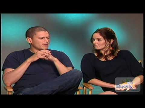 Wentworth Miller And Sarah Wayne Callies Interview Part 1