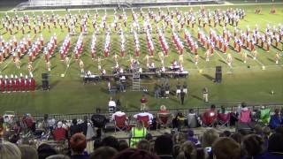 University of Alabama Million Dollar Band 10-3-13 with additional content