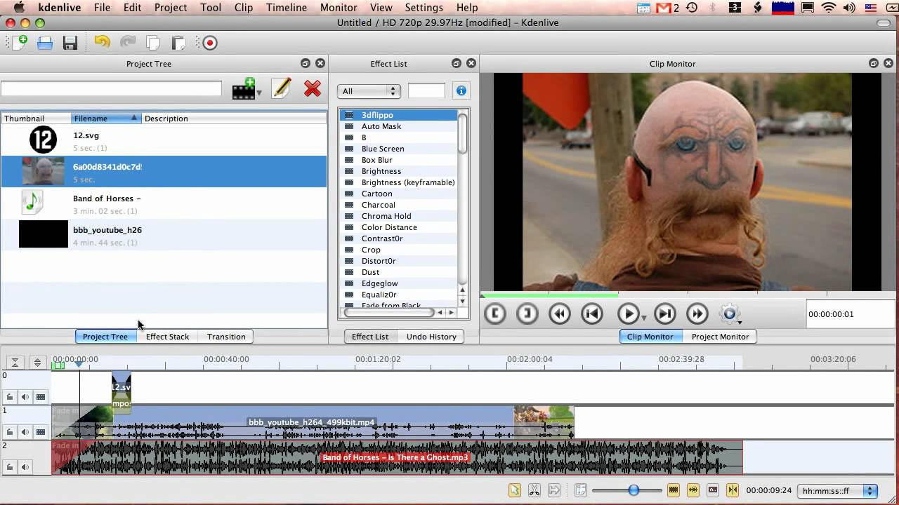 Screen capture of kdenlive 076 on mac os x youtube screen capture of kdenlive 076 on mac os x ccuart Choice Image