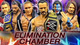WWE ELIMINATION CHAMBER 2021 PREDICTIONS! WWE FIGURES!