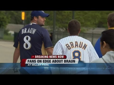Brewers fans react to latest Ryan Braun news