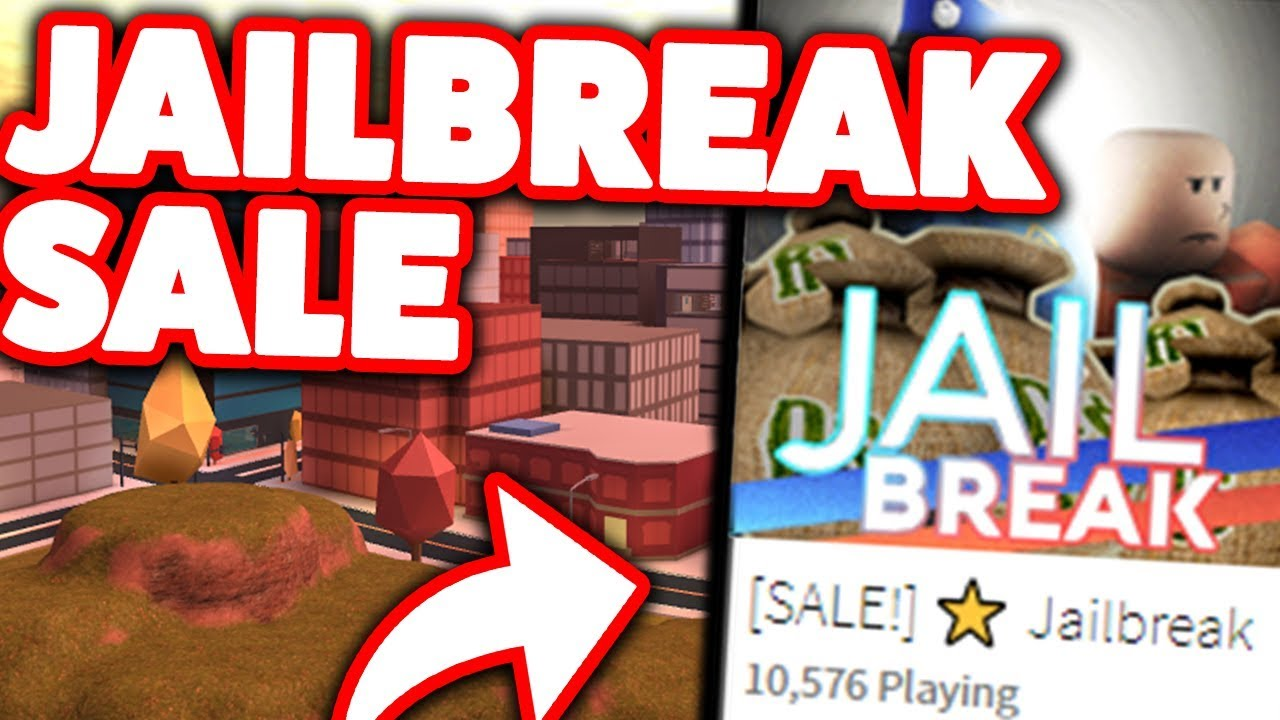 Roblox Jailbreak Gamepass Sale Huge Roblox Jailbreak Sale Cheap Cash Youtube