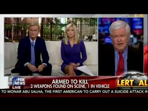 Newt Gingrich calls for a new House of un-American Activities