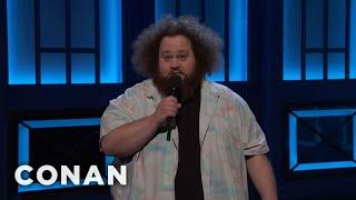 JC Currais Got Mistaken For Hagrid  - CONAN on TBS