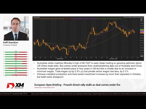 Forex News: 14/11/2018 - Pound's Brexit rally stalls as deal comes under fire