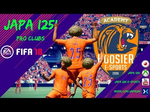 JAPA I25I Fifa 18 Pro Clubs E-Sports Vol. 01 - Season Start