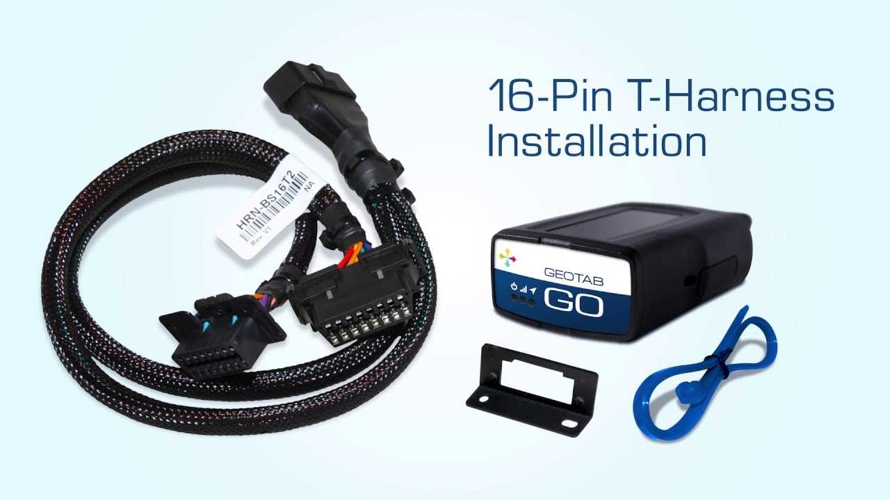 How to Install Geotab's 16-Pin T-Harness Fleet Management Device