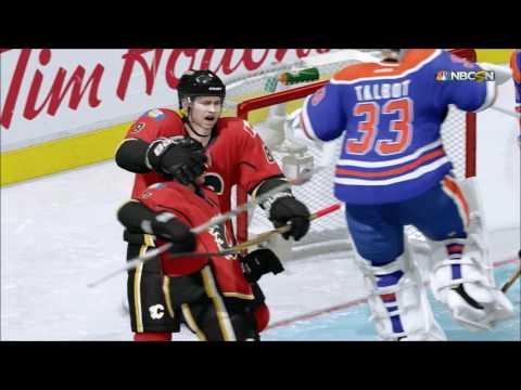 NHL 16 1V1 Calgary Flames VS Edmonton Oilers!