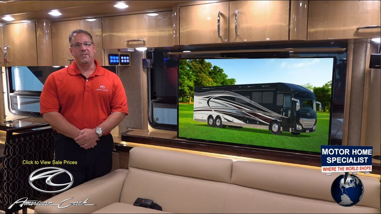 American coach heritage edition luxury rv review at motor for Motor home specialist reviews
