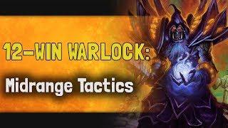 Hearthstone Arena | 12-Win Warlock: Midrange Tactics (Rastakhan #12)