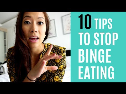 10 Tips to Stop Binge Eating