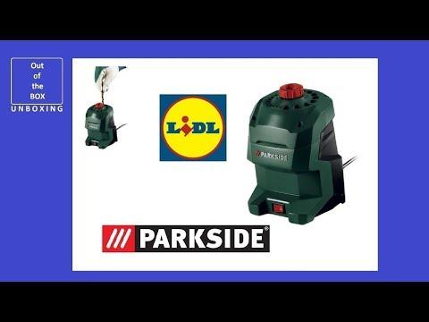 UNBOXING Parkside Drill Bit Sharpener PBSG 95 C3 (Lidl 3.0–12.0mm 20 sizes 95W)
