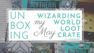 Unboxing my Wizarding World Lootcrate!