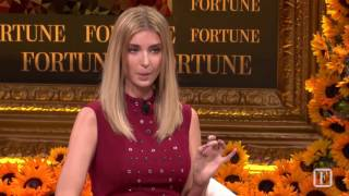 Ivanka Trump: 'I am Not a Surrogate' | Fortune Most Powerful Women